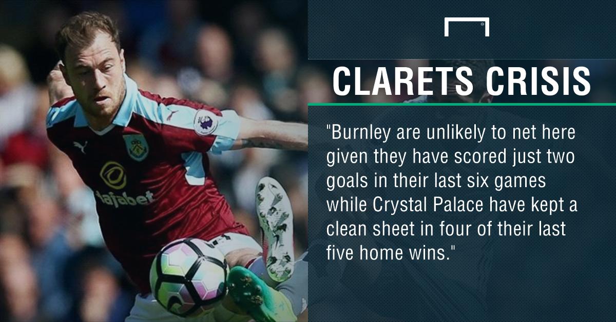 GFX Crystal Palace Burnley betting