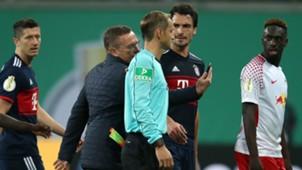 RB Leipzig Bayern München DFB-Pokal Rangnick 25102017