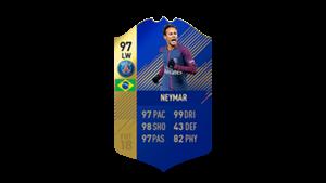 FIFA 18 Ultimate Team of the Season Neymar