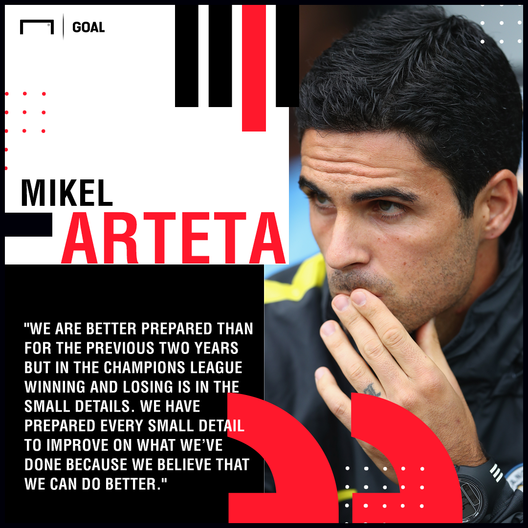 Arteta quote