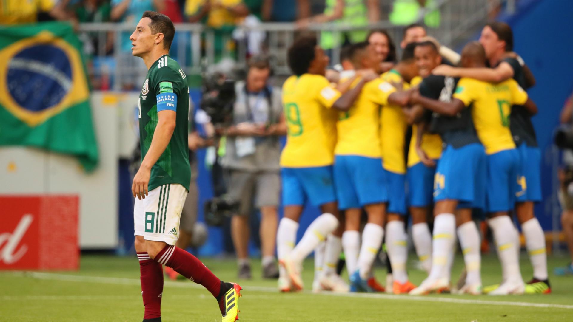 Brasil México WC 2018