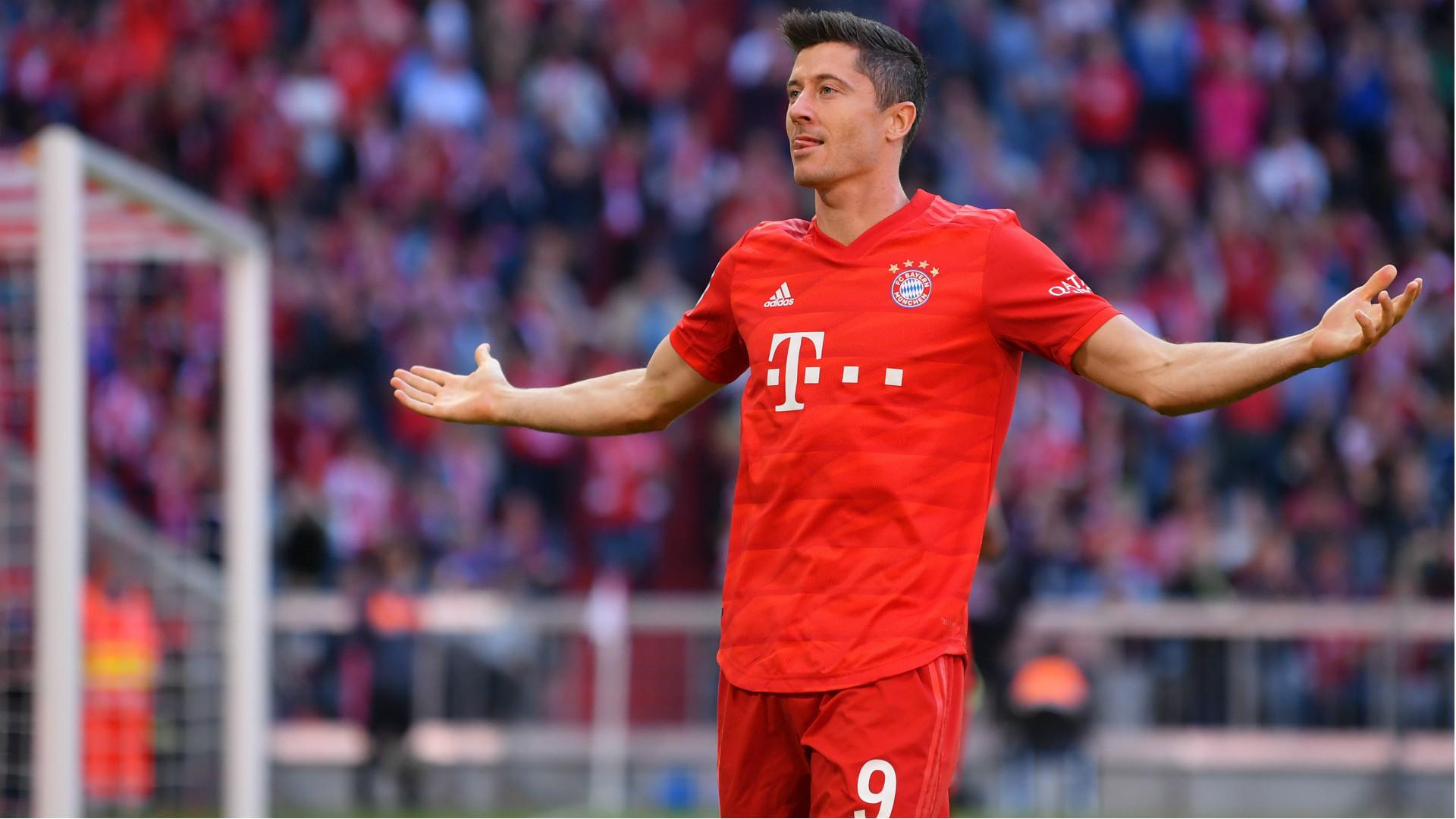 Robert Lewandowski Bayern Munchen 2019