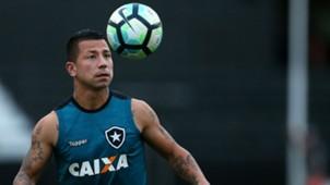 Leo Valencia Botafogo treino 27 07 2017