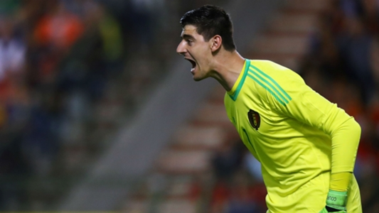 56aa2ca3321 2018 World Cup qualifiers: Chelsea goalkeeper Thibaut Courtois makes ...