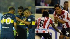 Colombianos Boca - Teo y Chará Collage