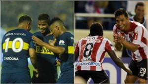 Colombianos Boca - Teo y Chará Collage