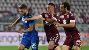 Domenico Berardi, Antonio Barreca, Emiliano Moretti, Torino, Sassuolo, Serie A, 05282017