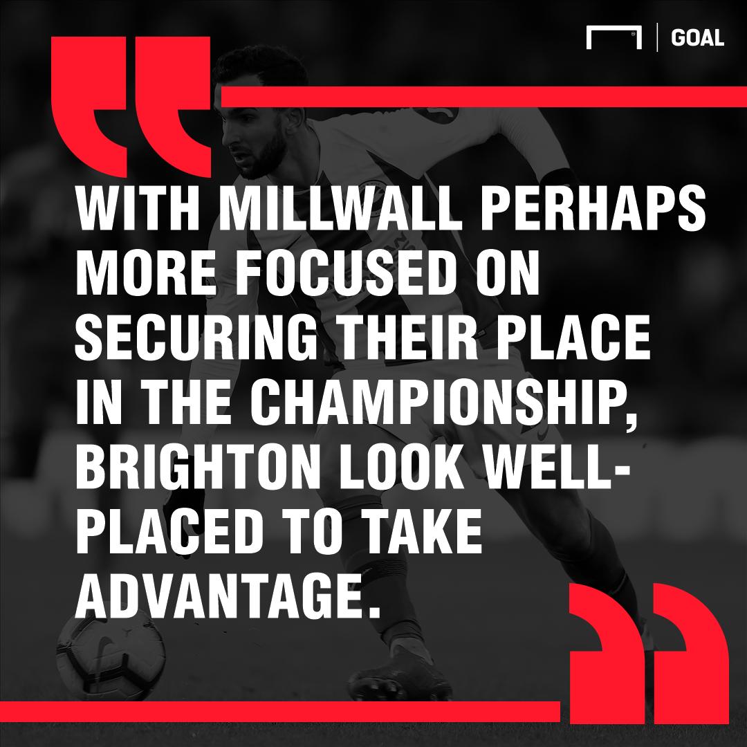 Millwall Brighton graphic