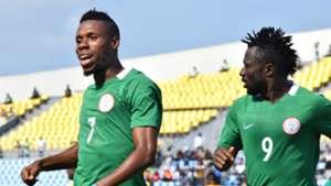 Nigeria vs. Benin - Friday Ubong, Anthony Okpotu