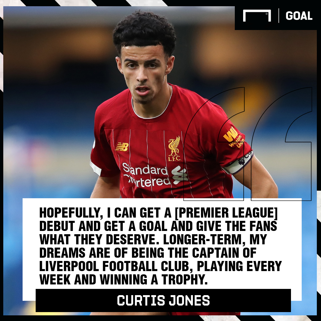 Curtis Jones Liverpool captain PS