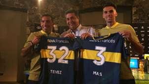 Tevez Angelici Mas Boca 09012018