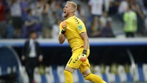 Kasper Schmeichel Croatia Denmark World Cup 01072018