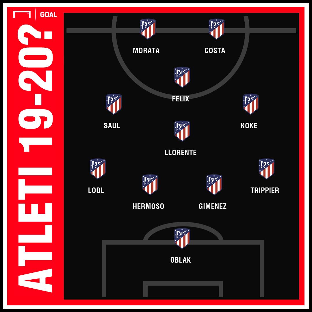 Atletico Madrid XI GFX