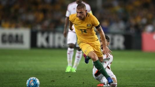 James Troisi Australia v United Arab Emirates World Cup qualifying 28032017