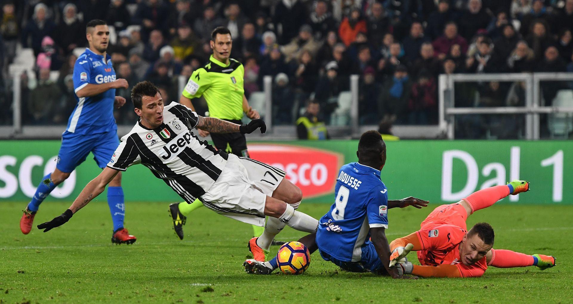 Mario Mandzukic Juventus Empoli Serie A