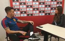 Mario Hermoso entrevista Selección