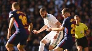 Karim Benzema Thomas Vermaelen Real Madrid Barcelona El Clásico LaLiga 23122017