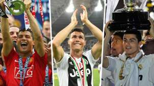 Cristiano Ronaldo Man United Juventus Real Madrid