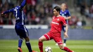 Andy Najar Anderlecht Omar Govea Royal Antwerp