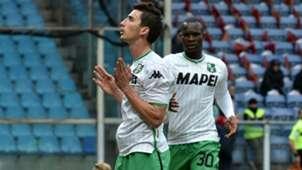 Filip Djuricic Khouma Babacar Genoa Sassuolo Serie A