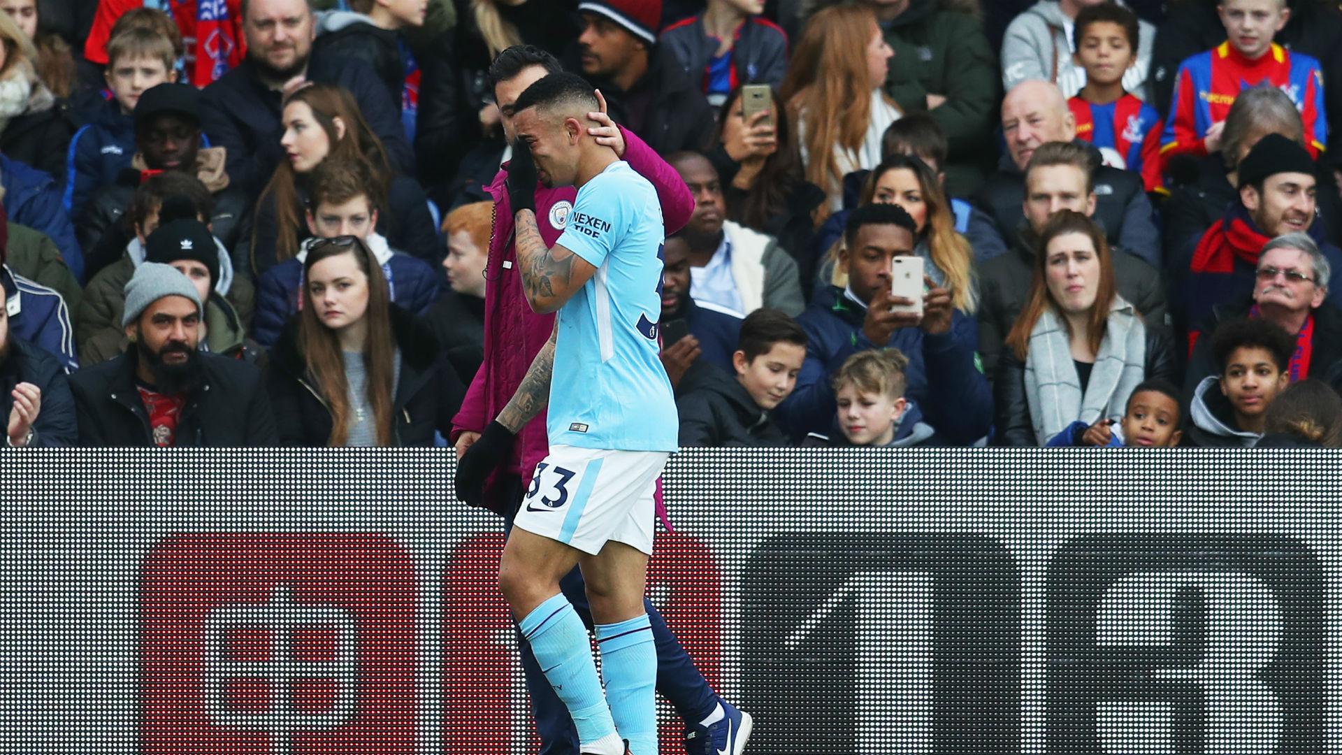 Gabriel Jesus Manchester City Crystal Palace
