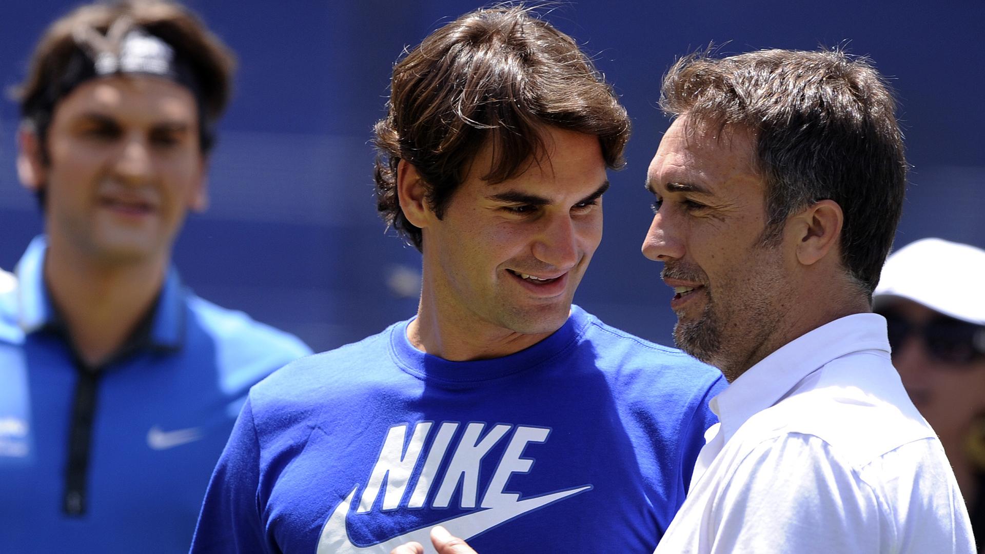 Gabriel Batistuta Roger Federer