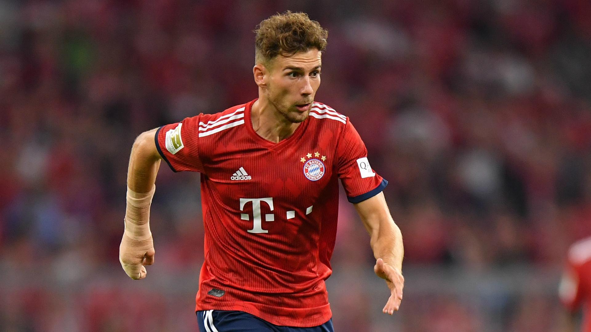 super popular 5741d dada7 Leon Goretzka earns praise from Bayern boss Niko Kovac after ...