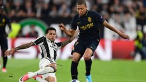 Dani Alves Mbappe Juventus Monaco Champions League