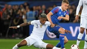 Presnel Kimpembe Alfred Finnbogason France Iceland Friendly 11102018