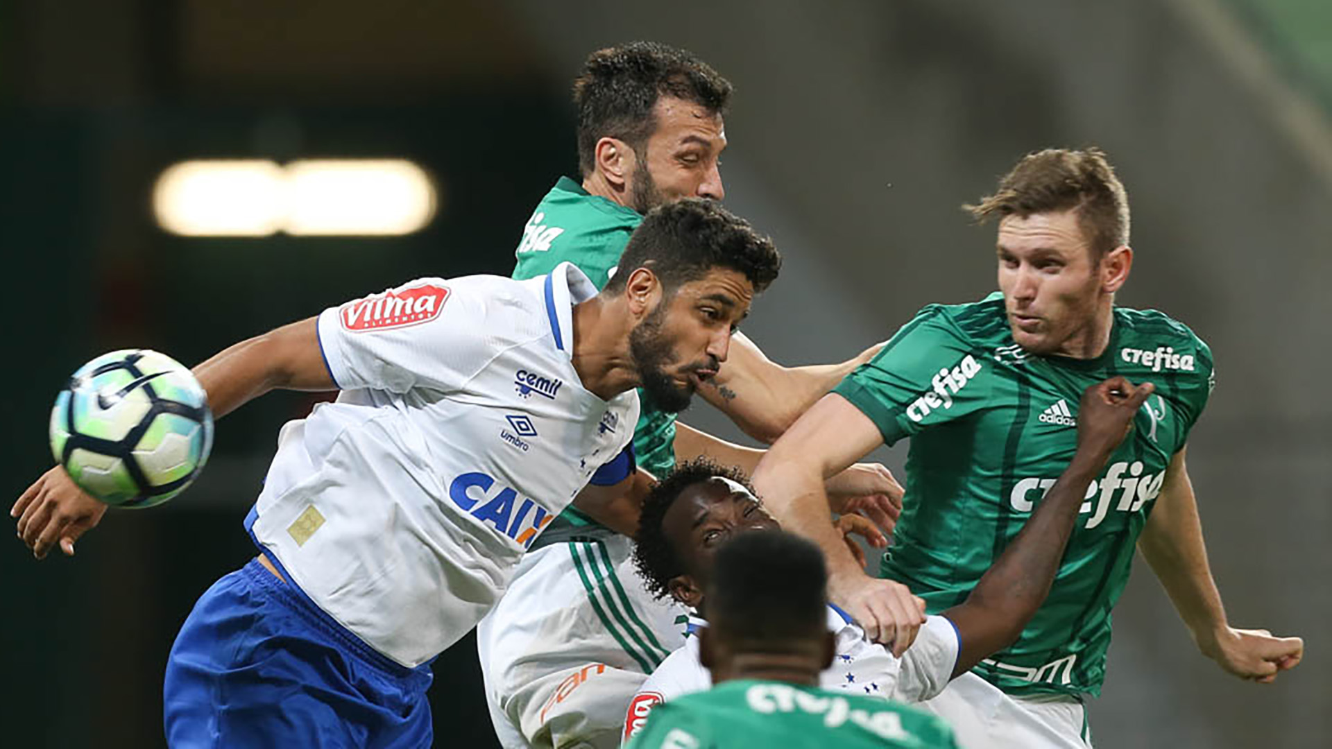 Leo Fabiano Palmeiras Cruzeiro Copa do Brasil 28062017