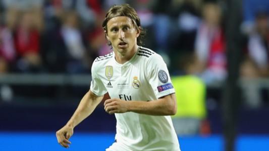 Luka Modric Real Madrid August 2018