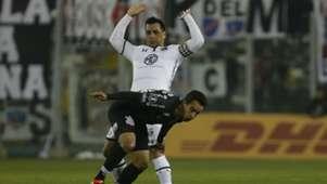 080818 Colo Colo Corinthians Esteban Paredes Jadson