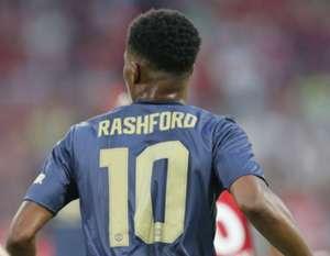 Marcus Rashford number 10