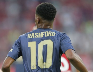 Marcus Rashford number 10