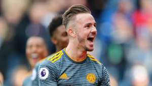 James Maddison Leicester City Huddersfield Town
