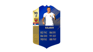 FIFA 18 Calcio A Team of the Season Kolarov