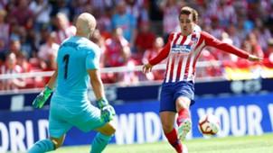 Dmitrovic Griezmann Atletico Madrid Eibar LaLiga 15092018