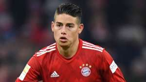 James Rodriguez Bayern Munich 2018-19