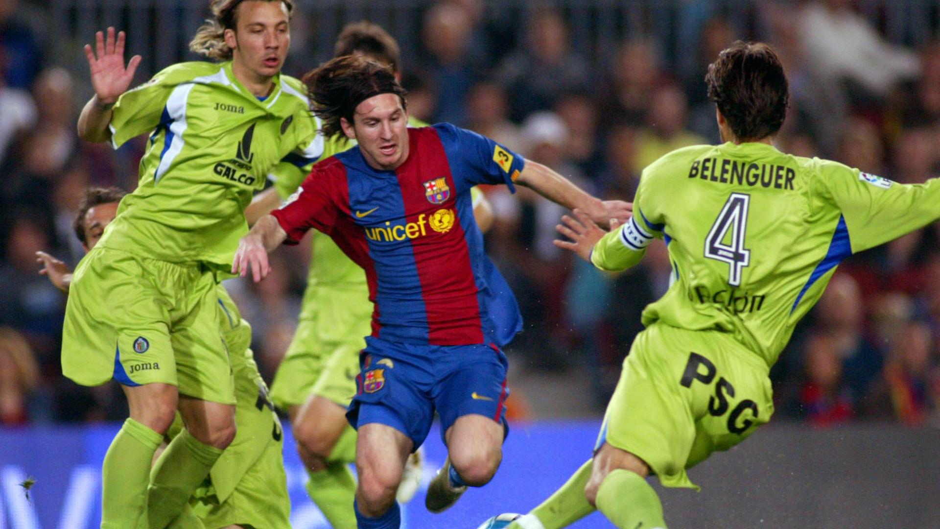 Barcelona Getafe Copa del Rey 2007