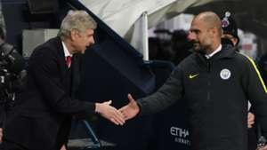 Arsene Wenger Arsenal Pep Guardiola Manchester City