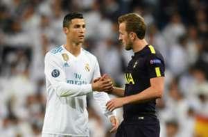 Ronaldo Kane Real Madrid Tottenham