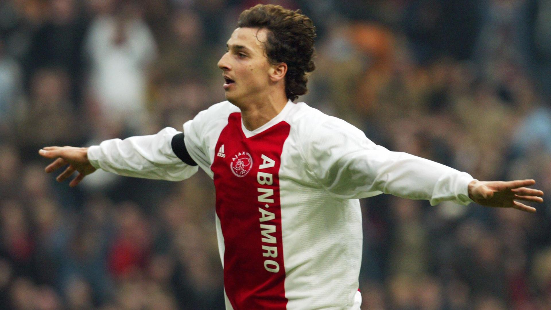 Zlatan Ibrahimovic Ajax Arnhem 03212004