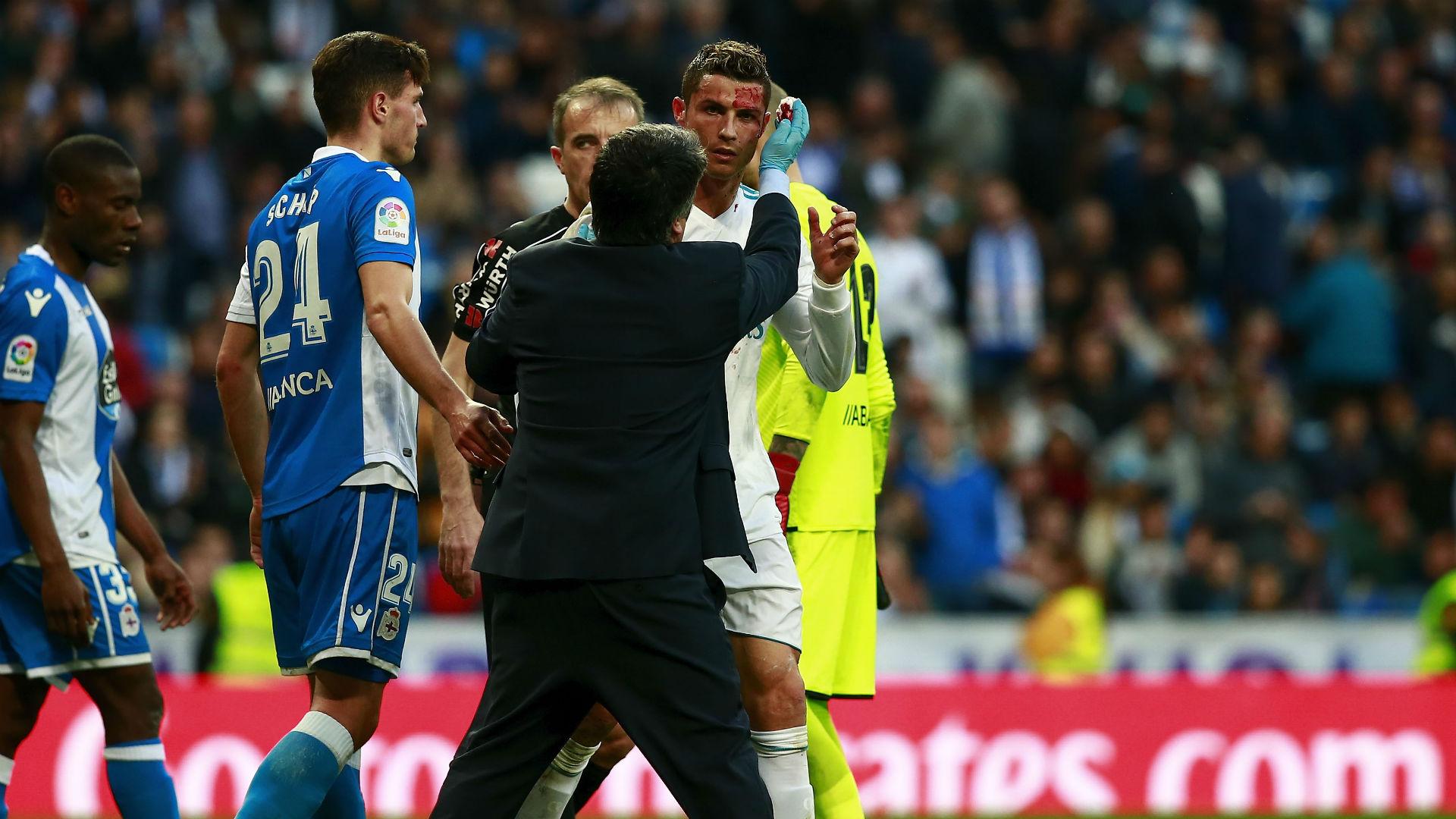 Cristiano Ronaldo Real Madrid 01212018
