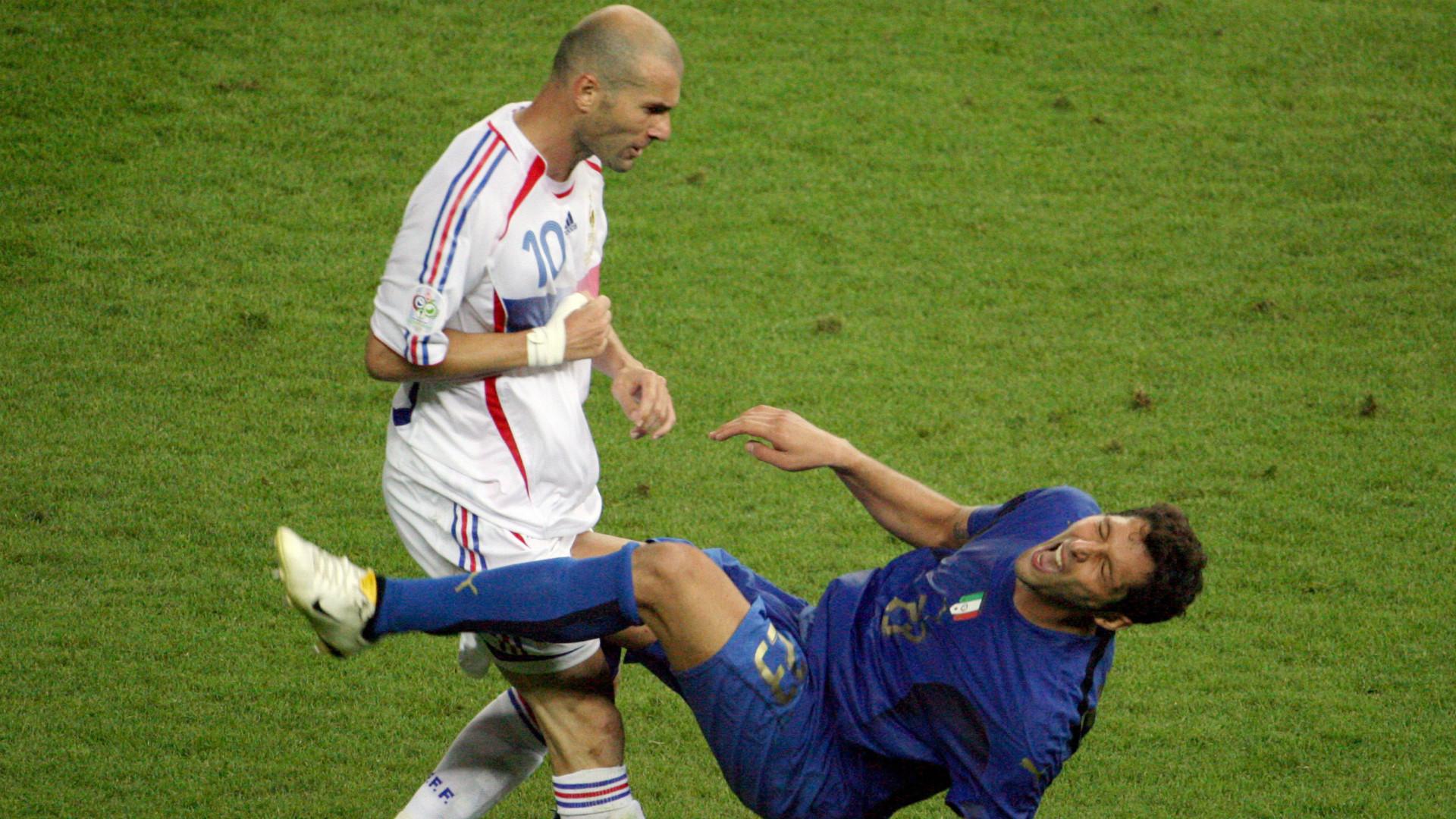 Materazzi Zidane Francia Italia Final Mundial Alemania 2006