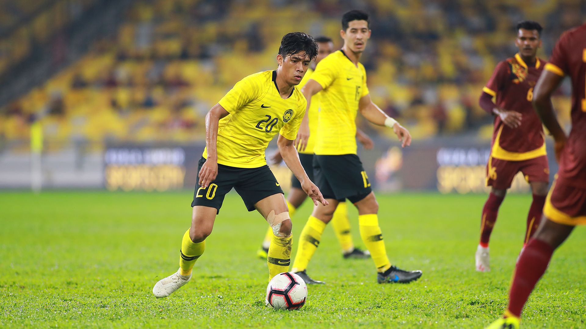 Syafiq Ahmad, Malaysia v Sri Lanka, International Friendly, 5 Octo 2019