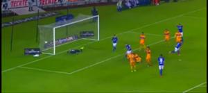 Gol gane Cruz Azul vs Tigres