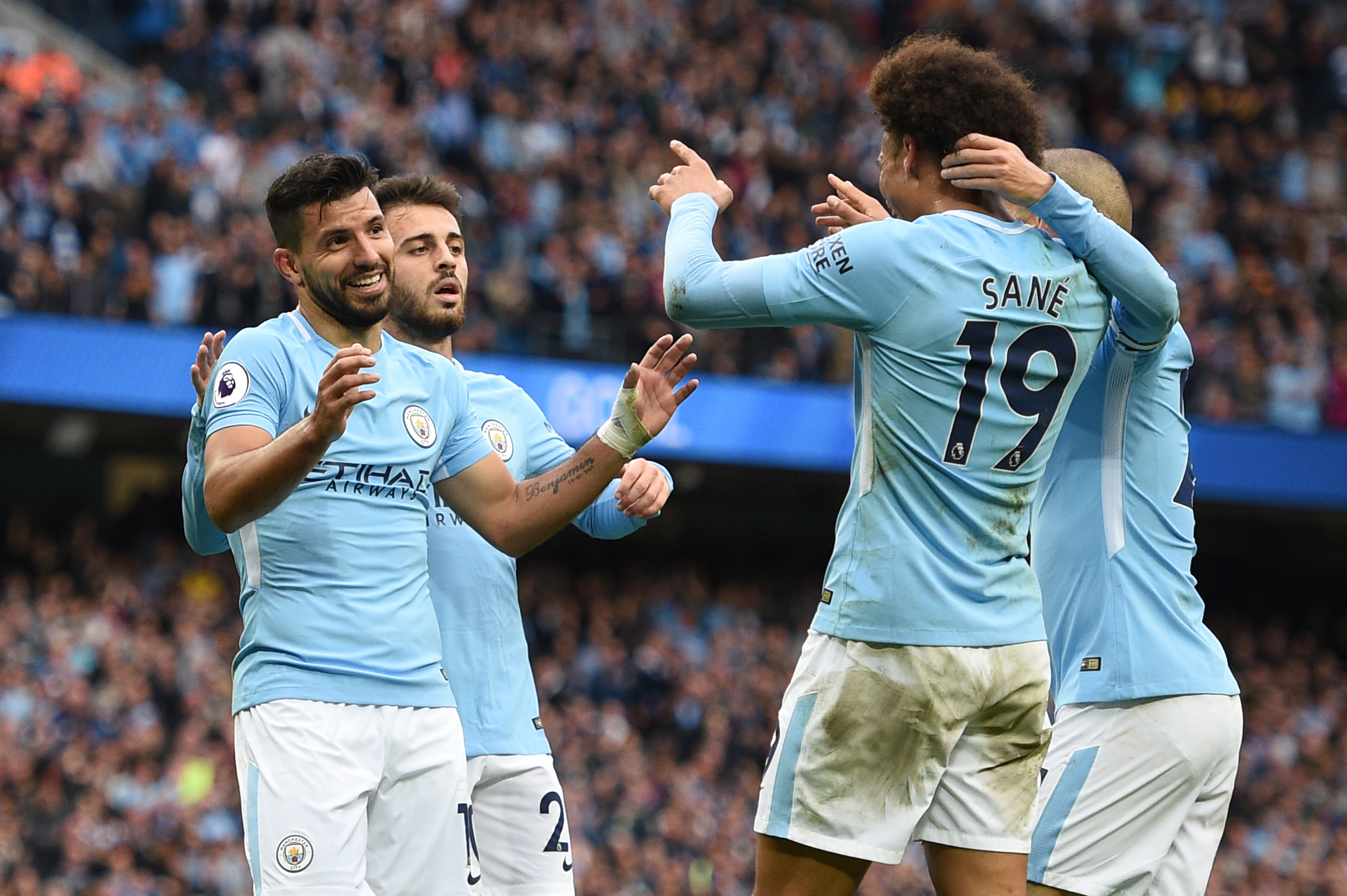 Manchester City aim to remain top of table against winless Crystal Palace