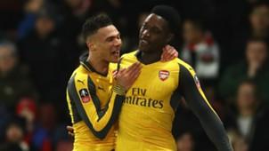 Kieran Gibbs Danny Welbeck Arsenal