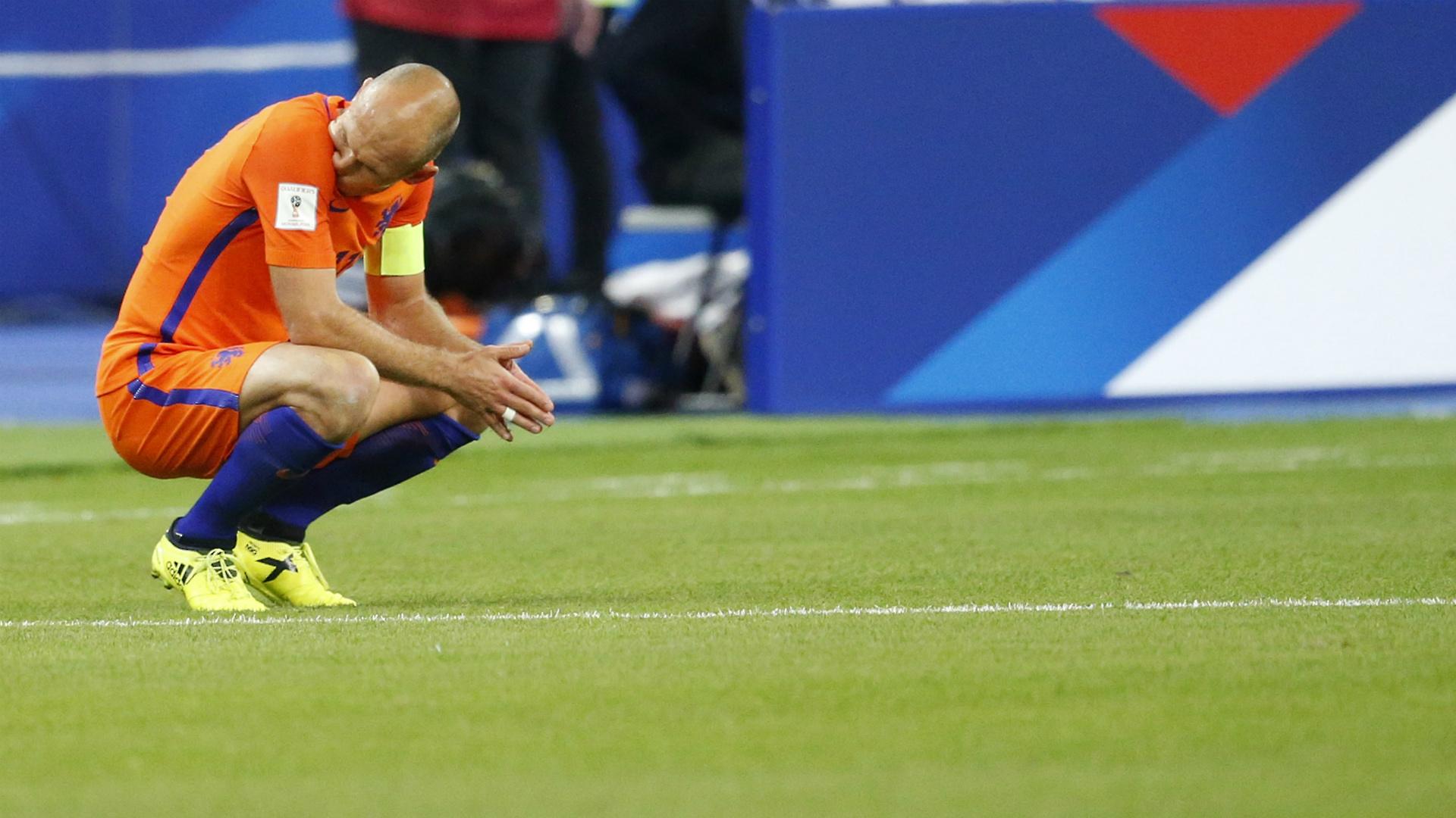 Arjen Robben, France - Netherlands