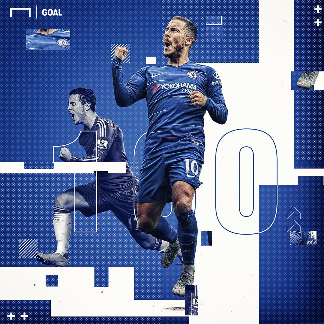 Eden Hazard Chelsea 100